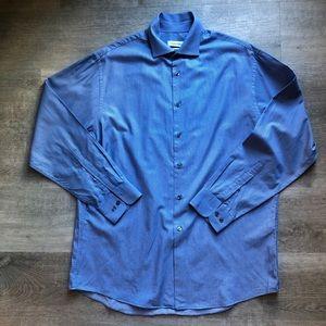 Calvin Klein striped shirt size 16 (32/33)